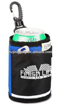 Handle Sand Cooler Polyester Can Holder For Beer