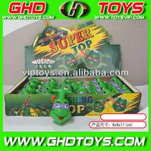wholesale michelangelo cartoon turtle spinnig top toys