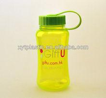 Food safe plastic space water bottle drink water or fruit juice
