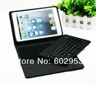 Removable bluetooth wireless keyboard Case Stand for iPad MINI tpu and plastic material