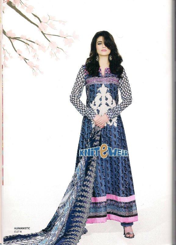 Pakistani Lawn Suits 2012