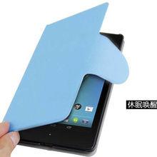 Auto Wake/Sleep wallet case for Google Nexus 7 2 Gen