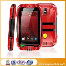 "Fashion design 2.6"" touch screen CA-9 dual sim TV bluetooth mobile"