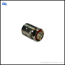 7/16 Straight Male Connector, Press Fit