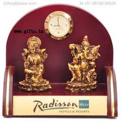 Mandir Laxmi & Ganeshji Murti in Polystone