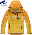 amarillo de la moda corto chaqueta de invierno