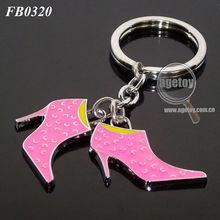 High Heels Shape Key Ring