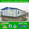 Kehouse prefabricated one floor quick cheap house design for sale