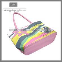 Cute girls waterproof beach bag with pockets wholesale