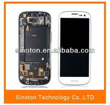 NEW Complete LCD Screen With Touch FOR Samsung Galaxy S3 SIII i9300 Marble White