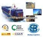 ocean freight/service shipping agent/forwarder from Tianjin,Haikou, Tianjin, Dalian, Foshan to Tallinn