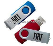 Best Selling 64 GB swivel usb flash drive/ promotion gift electronic usb