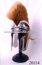 Armor Helmet Corian with Brown Plume