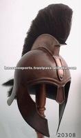 Achilles Troy helmet with plume antique