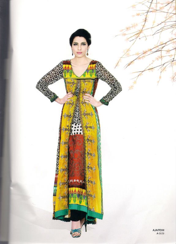 Lawn 2012 Sana Samia, Lala , Kesa , 3 piece suit, cotton prints, salwar kameez, digital prints, magnifique collection