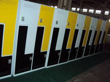 Z shaped door metal locker/ cloth locker /shoes locker