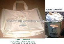 Folding Cotton Shopping Bag
