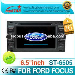 Autoradio/bluetooth driver/car multimedia player for Ford Focus ST-6505