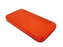 Diamond Gel Case for HTC Legend Red