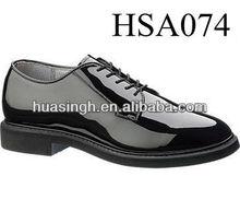 XM,BATES Durashock military uniform high glossy mens police shoes