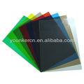 de colores de plástico rígido hoja de pvc para la impresión y termoformado