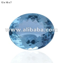 NATURAL AQUAMARINE LOOSE CALIBRATED GEMSTONES, AQUAMARINE CUT STONE, FACETED PRECIOUS AND SEMI-PRECIOUS BLUE COLOR GEMSTONE