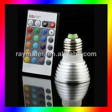 High lumen Diammable energy saving 3w RGB E27 face spot remover face black spot remover cream