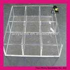 clear acrylic box clutch