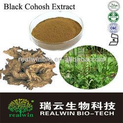 100% Black Cohosh root Extract Triterpene 2.5%