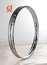 Steel chrome motorcycle rim