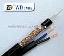 Siamese Cable, RG59 20AWG Copper Inner Coaxial, 95% Braided + 18/2 Copper Power