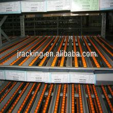 Jracking Storage Facility Adjustable carton flow pallet conveyor