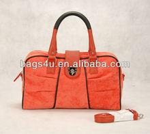 Vintage Women Designer Ladies Fashion Bags Suede Nautical Purse Handbag Collection