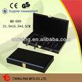 acabado de alto brillo negro de lujo de regalo de madera de china del teléfono móvil de reparación de caja