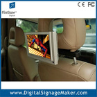 "7"" inch motion sensor Taxi/Car top tft color lcd advertising tv monitor"