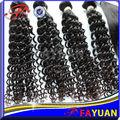 mongol cabelo crespo encaracolado 100 extensões de cabelo humano tecer marcas