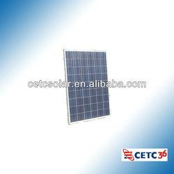 25 Years Warranty Polycrystalline Solar Panel 140W