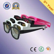 nero opaco di plastica 3d occhiali