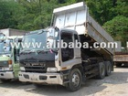 Isuzu dump truck