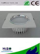 coolwhite 7W ip65 LED square downlight