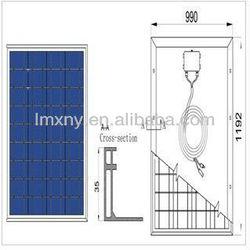 2013 Hot Selling panels solar ,160W Polycrystalline Solar Panel