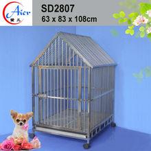 steel bar dog cage steel dog crates for sale