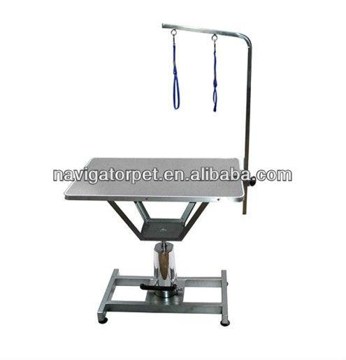 Hydraulic Lifting Dog Hairdresser Table