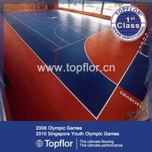 Rubber Sports Flooring Gym Basketball Rolls Flooring