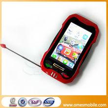 """Newest Model Ca-09 Car Shape Dul Sim FM WIFI 2.6"""" touch screen tv cheap GSM smartphone 2013 pda intelligent phone"""