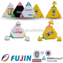 Triangle shape pen/plastic novlty highlighter gift/2013 promotional marker pen