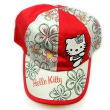 Best sell 2013 girls hello kitty hats&children cartoon caps