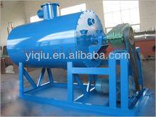 Gas or steam or oil vacuum rake dryer