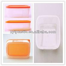2014 Reusable Transparent Plastic Lunch Box Wholesale