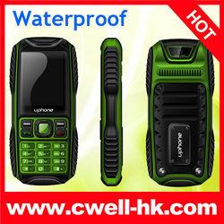 Waterproof Anti-shock Anti-Dust Dual SIM Card mobile phone